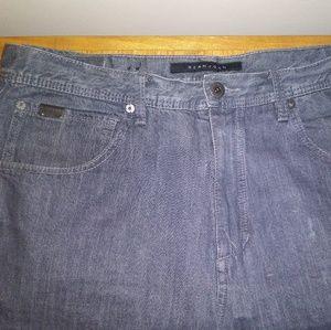 Sean John Garvey Jeans Men Size 36 32 Gray